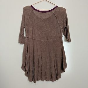 Free People Tops - 5/$25 Free People Weekends Layering Tunic Top